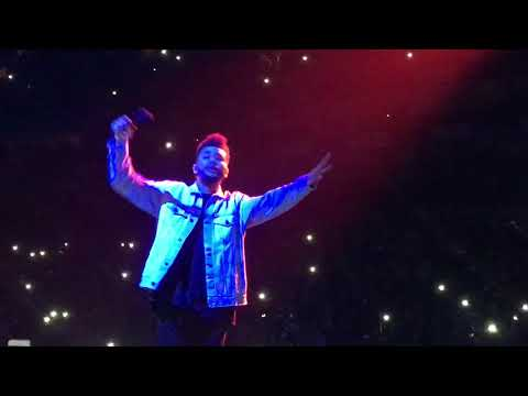 The Weeknd - Starboy Live at O2 Arena London 2017