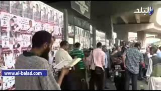 بالفيديو .. ملتحي يقرأ سورة 'المطففين' على الناخبين