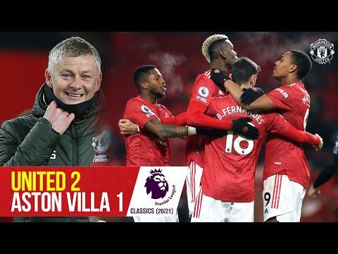 Classic Clash | Martial & Fernandes sink Villa | Manchester United 2-1 Aston Villa (20/21)
