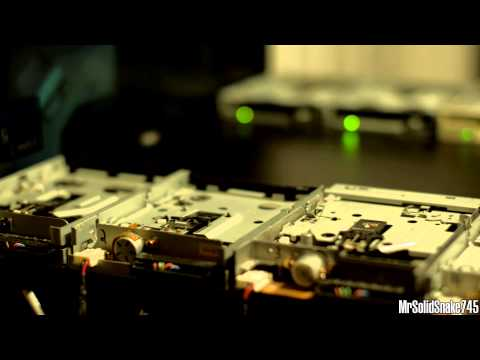 Metal Gear Solid - Encounter on Eight Floppy Drives