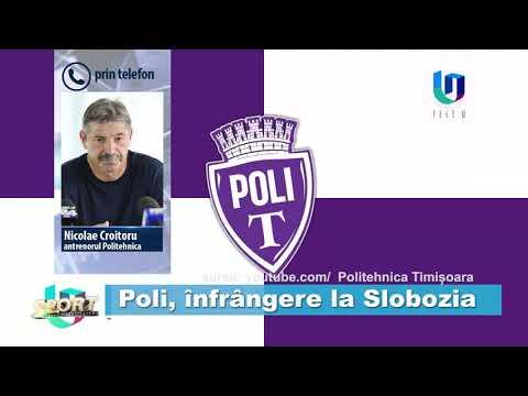 TeleU: Poli, înfrângere la Slobozia