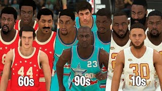 What Is The Greatest Decade In NBA History?   NBA 2K20