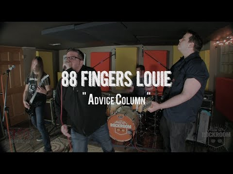 "88 Fingers Louie - ""Advice Column"" Live! from The Rock Room"