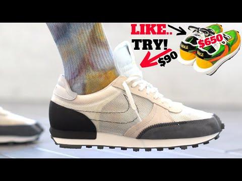 Like Nike Sacai Waffle? TRY THESE! Nike DayBreak Type Review & On Feet