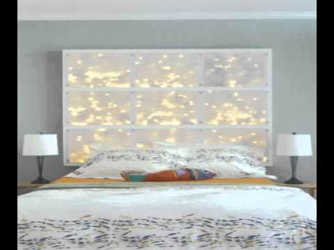 Diy Headboards With Lights Youtube