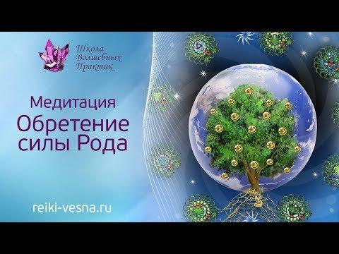 Медитация Обретение Силы Рода.  Восстановления Силы Рода, соединение с древом рода,. Хранители Рода