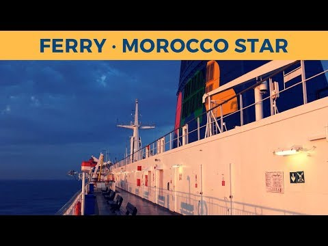 Passage ferry MOROCCO STAR, Tanger Med - Algeciras (Africa Morocco Link)