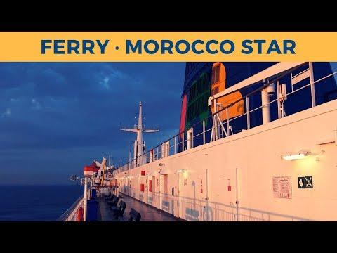 Passage ferry MOROCCO STAR, Tanger Med - Algeciras (Africa Morocco Link)