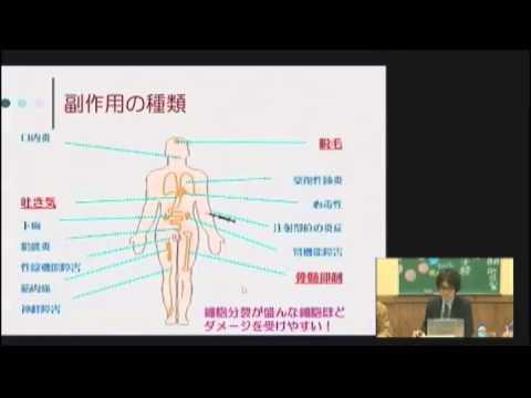 ①抗がん剤の種類と副作用