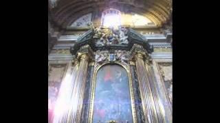 Ad Majorem Dei Gloriam ante sepulcrum S. Ignatii de Loyola, aput Ecclesiam Jesu Romae