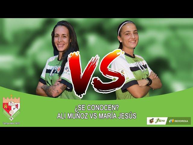 Liga #RetoIberdrola 19/20: #Seconocen... Ali Muñoz VS María Jesús