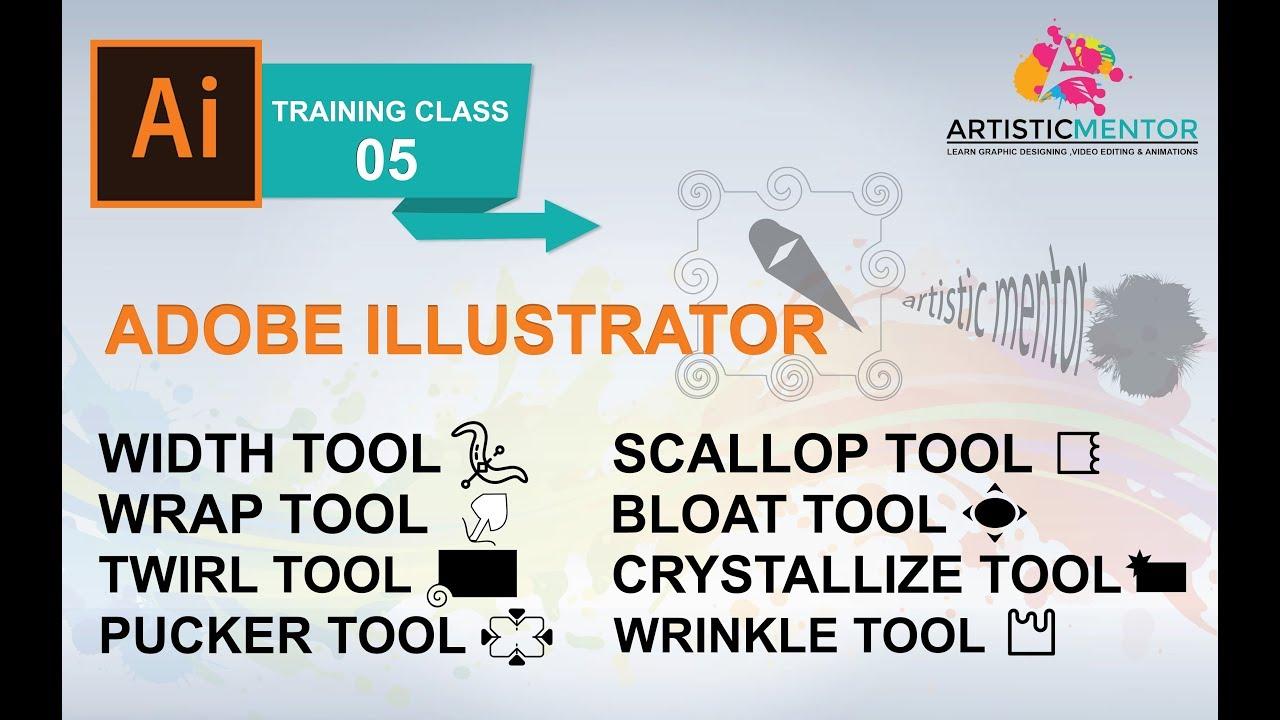 ArtStation - Adobe Illustrator Training Class 5 - How to use Width