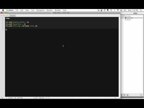 How to Log Errors to a Text File with PHP