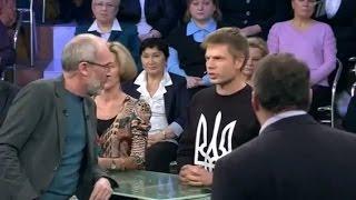 Украинский депутат порвал ватные шаблоны на Первом канале