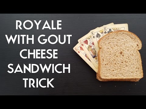 ROYALE WITH GOUT CHEESE SANDWICH TRICK PigCake Tutorials