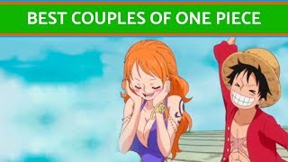 The best couples of One Piece