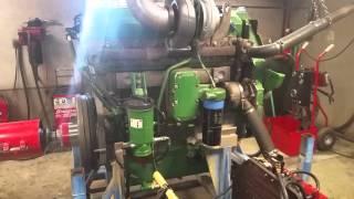 Dyno run of Rebuilt 12.5L John Deere engine