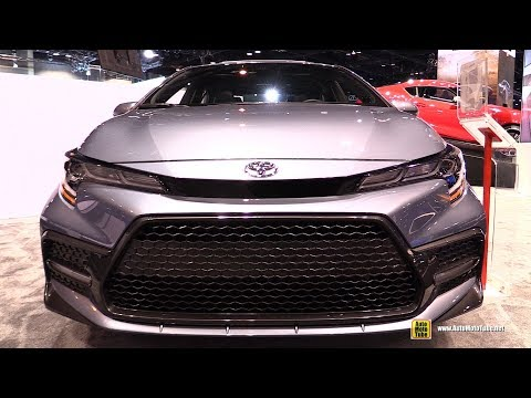 2020 Toyota Corolla XSE - Exterior and Interior Walkaround - 2019 Chicago Auto Show