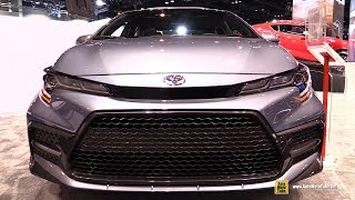 2020 Toyota Corolla XSE - Exterior and Interior Walkaround - 2019 Chicago Auto Show