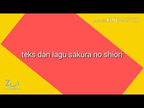 teks dan lagu sakura no shiori