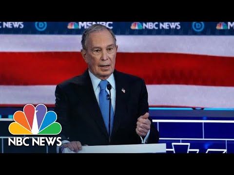 Mike Bloomberg Is