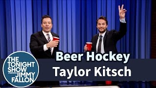 Beer Hockey with Taylor Kitsch