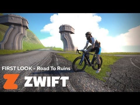 ZWIFT First Look - New 'Road to Ruins' Expansion