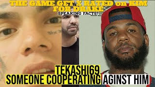 Tekashi SOMEONE allegedly Cooperating Against Him (new findings) The Game Xrated on Kim for DRAKE