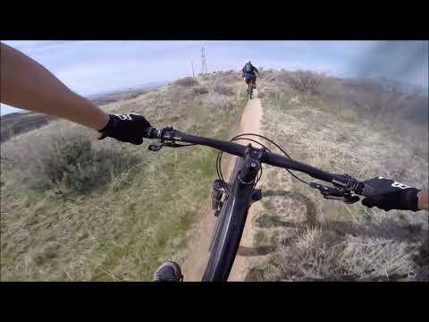 Military Reserve Boise, Idaho Mountain Biking Stabilized