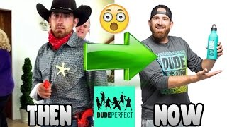 DUDE PERFECT ● THEN AND NOW | 2017