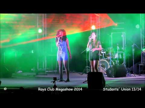 Veronique & Melanie | Say Something (A Great Big World song) | UoM MegaShow 2014