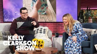 Josh Gad's Hilarious 'Toe Tap' Parenting Technique Soothes Crying Kids: Watch It!