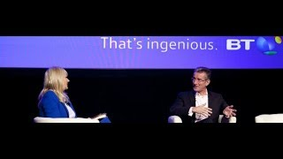 BT Mindshare Conference, Dublin - Miriam O'Callaghan interviews Didier Bonnet