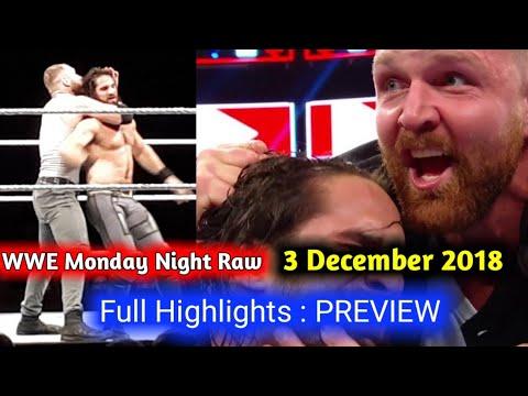 WWE Raw 3 December 2018 Preview Highlights !! WWE Raw 3 December 2018 Highlights !! thumbnail
