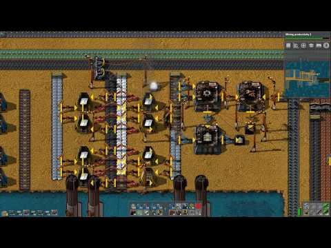 Let's Play Factorio Sea Block Mod - Part 60 - Processing Iron and Tin Ore Into Ingots