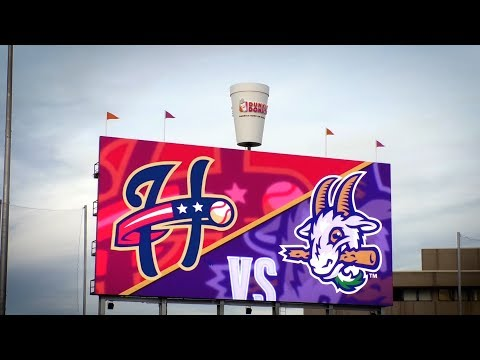 Panasonic installs LED Video Boards in Minor League Baseball at Dunkin Donuts Park