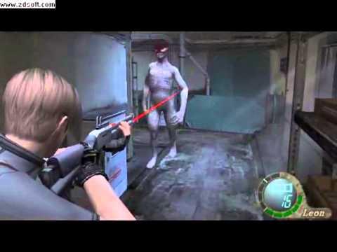 Leon Vs Regeneradores Resident Evil 4 Youtube