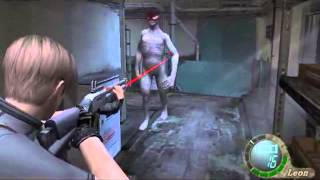 Leon vs Regeneradores Resident evil 4