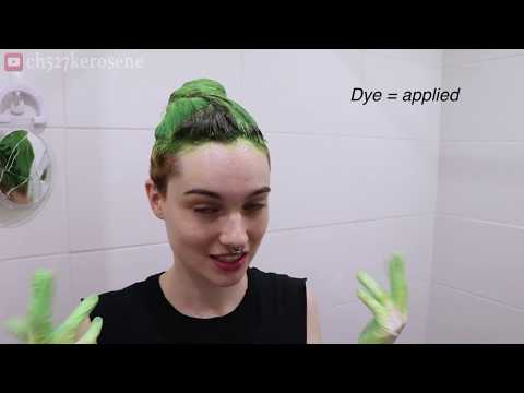 Hair Transformation - Electric Slime