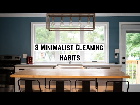 8 Minimalist Habits For A Clutter Free Home