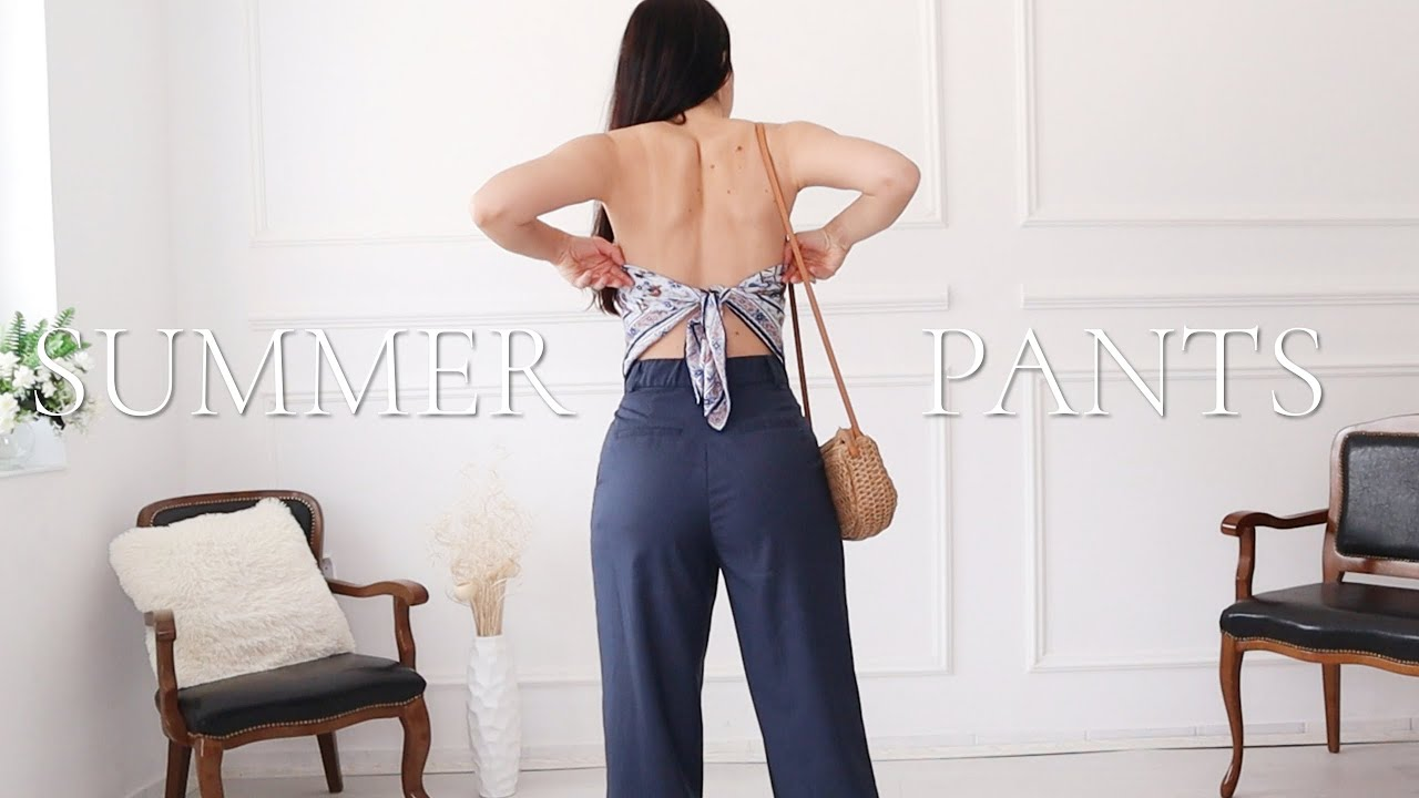 HOW TO WEAR OVERSIZED PANTS IN SUMMER | Oversized Pants Style Ideas