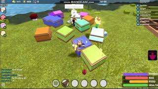 Farming Blood Fruit And Opening Infinity Chest (Roblox Booga Booga)