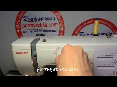 Обзор швейной машины JANOME 5515 (415)