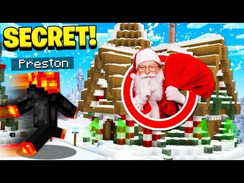 I FOUND SANTA'S SECRET IN MINECRAFT!