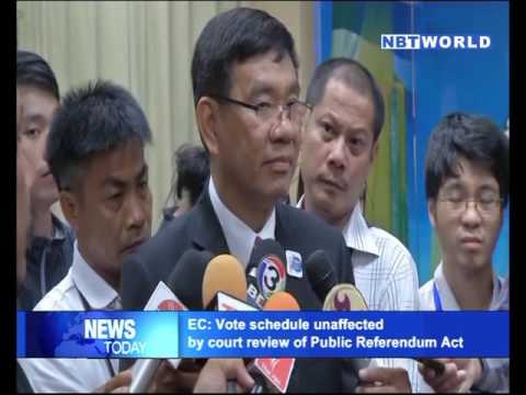 EC Vote schedule unaffected by court review of Public Referendum Act