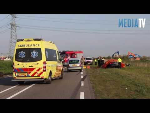 Dodelijk ongeval met vrachtwagen Hoeksebaan Hoek van Holland