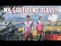 PLAYING WITH MY GIRLFRIEND! - Rules of Survival Livestream
