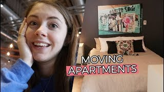 touring new apartments! +best friend gift exchange! // Jill Cimorelli