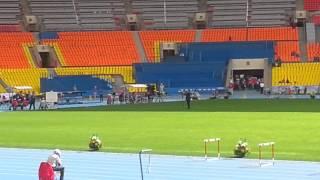 ЧР по лёгкой атлетике 400м с барьерами 2013
