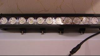 JT S10120 A дальний(Дополнительные светодиодные фары дальнего света LED SPOTLIGHT S10120 SPOT (узкий луч дальнего света), 2013-01-13T16:41:32.000Z)